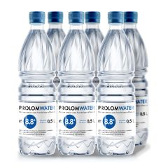 Prolom Water - Alkaline water PH8.8 (500ML) - Case Offer PLAP005