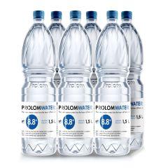 Prolom Water - Alkaline water PH8.8 (1.5L) - Case Offer PLAP015