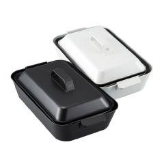 正負零 - 多功能料理鍋 (白色 XKH-E010W / 黑色 XKH-E010BK)