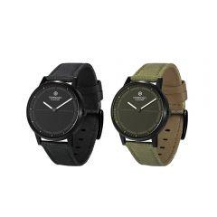 PNW-060 Noerden Mate2+ Hybrid Smart Watch Special Edition (Black/Khaki)
