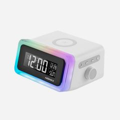 MOMAX Q.CLOCK 2 DIGITAL CLOCK WITH WIRELESS CHARGER (QC2)