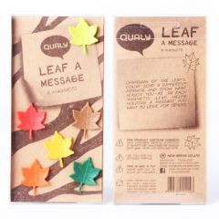 QUALY - Leaf a Message -6 Magnets QL10105-MX