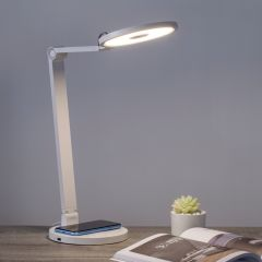 MOMAX SMART DESK LAMP WITH WIRELESS CHARGING