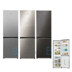 HITACHI - 2 door Refrigerator  (Right/Left Hindge) (3 colors) (314L)  R-B380PH9 R-B380PH9