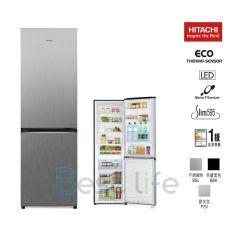 HITACHI - 2 door Refrigerator  (Right/Left Hindge) (3 colors) (314L)  R-B380PH9 R-B380PH9