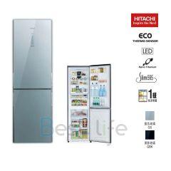 HITACHI - 2 door Refrigerator(Right/Left Hindge) (2 colors) (312L)  R-BX380PH9 R-BX380PH9