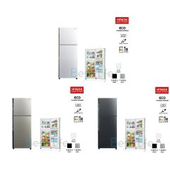 HITACHI - 2 door Refrigerator(3 colors)(202L) R-H200P7H R-H200P7H