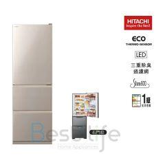 HITACHI - 3 door Refrigerator (Right/Left Hindge) (375L) R-S38KPH R-S38KPH