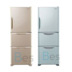 HITACHI - 3 door Refrigerator(2 colors)(265L) R-SG28KPH R-SG28KPH