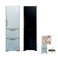 HITACHI - 3 door Refrigerator(Right/Left Hindge) (2 colors) (315L) R-SG32KPH R-SG32KPH
