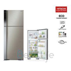 HITACHI - 2 door Refrigerator(Brilliant Silver)(437L) R-V541P7H(BSL) R-V541P7H-BSL