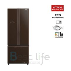 HITACHI - 3 door Refrigerator(Glass Brown)(465L) R-WB490P9H(GBW) R-WB490P9H-GBW