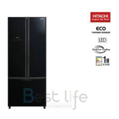 HITACHI - 3 door Refrigerator(Glass Black)(465L) R-WB560P9H(GBK) R-WB560P9H-GBK