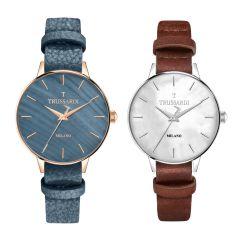 Trussardi T-Evolution Leather Strap Women's Watches  R245112050