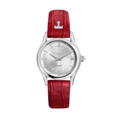 Trussardi T-Light Red Leather Strap Ladies Watches R2451127502 R2451127502
