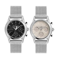 Trussardi T-Light Metal Band Strap Men's Watches  R245312700