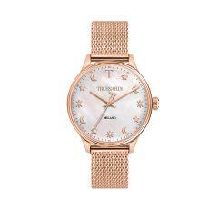 R2453130501 Trussardi T-Complicity Rose Gold Steel Strap Women's Watches R2453130501