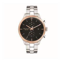 R2473630002 Trussardi T-Complicity Silver Steel Strap Chronograph Men's Watches R2473630002