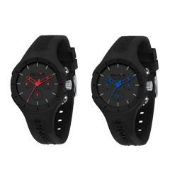 Sector - Italy Speed Mult 41mm Silicon Men's Watches R3251514013/R3251514014 (Black Red/Black Blue) R3251514_All