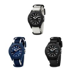 Sector - Italy Save The Ocean 43mm Nato Men's Watches R3251539001/R3251539002/R3251539003 (3 colors) R325153900_All