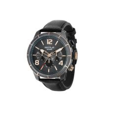 Sector - Italy 850 45mm Leather Strap Men's Watches R3251575013 (Black) R3251575013