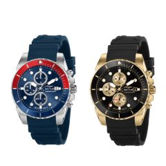 Sector - Italy 450 51mm Silicon Men's Watches R3271776009/R3271776010 (Black/Blue) R327177600_All
