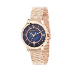 Maserati Epoca Rose Gold Metal Band Strap Women's Watches R8853118503 R8853118503