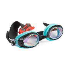 Bling2O - Swim Goggles - Drag Race - Retro Teal Slider RAC21595