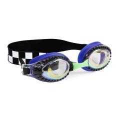 Bling2O - Swim Goggles - Drag Race - Hot Rod Royal Check RAC21601