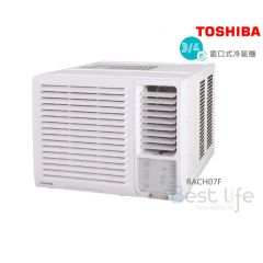 RACH07F Toshiba 3/4 HP Window Type Air-Conditioner (Cooling Only Series) RACH07F