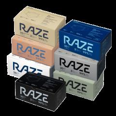 RAZE - 3ply Antibacterial Mask (50pcs) (White) MA1011WH