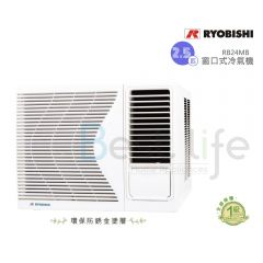 Ryobishi - 2.5 HP Window-Type Air-Conditioner RB-24MB RB24MB