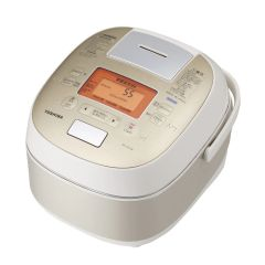 Toshiba - Diamond Copper Pot IH Vacuum & Pressure Rice Cooker (1.8L) RC-DS18K - Gold RC-DS18K_GD