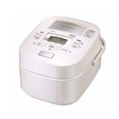 Toshiba - Diamond Bincho Charcoal Pot IH Vacuum & Pressure Rice Cooker (1.0L) RC-DX10H - White RC-DX10H_WH