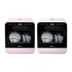 樂信牌 - 座檯式洗碗碟機 (白色 RDW-J6W / 粉紅色 RDW-J6P) RDW-J6_all