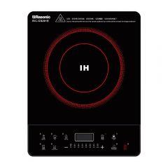 樂信 - 輕便式電磁爐 RIC-GB201E (2級能源標籤) (13A/按鍵式/6 種自動功能)