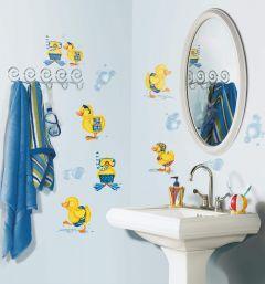 ROOMMATES - BUBBLE BATH APPLIQUES RMK1261SCS