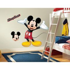 ROOMMATES - DISNEY - MICKEY MOUSE GIANT WALL DECAL RMK1508GM