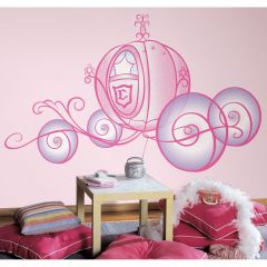 ROOMMATES - DISNEY PRINCESS CARRIAGE RMK1522SLM