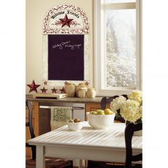 ROOMMATES - COUNTRY CHALKBOARD WALL DECALS RMK1572GM