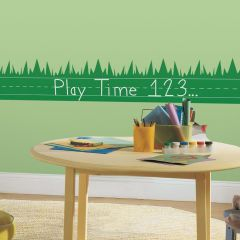ROOMMATES - LEARNING LAWN CHALKBOARD WALL DECALS RMK1950SCS