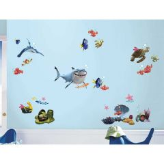 ROOMMATES - DISNEY FINDING NEMO WALL DECALS RMK2059SCS
