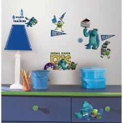 ROOMMATES - DISNEY - MONSTERS UNIVERSITY WALL DECALS RMK2243SCS