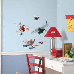 ROOMMATES - DISNEY PLANES FIRE RESCUE WALL DECAL RMK2520SCS