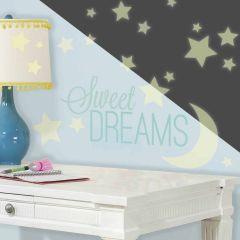 ROOMMATES - SWEET DREAMS GLOW IN THE DARK RMK3092SCS