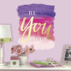 ROOMMATES - BEYOUTILFUL QUOTE WALL GRAPHIC RMK3167GM