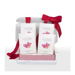 Crystal Mask - [Hydro-Clarifying] 600sec Rose Quartz SOS Intensive Moisturizing Mask (4 Boxes Set) RQCM2001-5-B_4Set