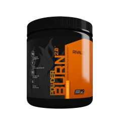 Rivalus PowderBurn2.0 403g - Orange Slice (Pre - workout) RVLPDBPREWOJS403G