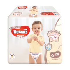 Huggies - Platinum Pants L 25pcs 306-S7I
