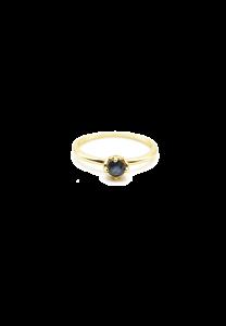 Sdori 藍寶石純銀戒指 - 純銀
